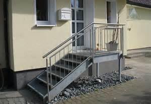 treppe stahlwange brickenk metalltechnik startpunkt