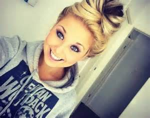 Hair Bun Cute Makeup