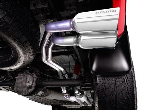nismo dual sport cat  exhaust system nissan titan