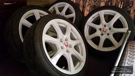 Original Honda Type R 18 Inch Rims & Tyres For Sale In