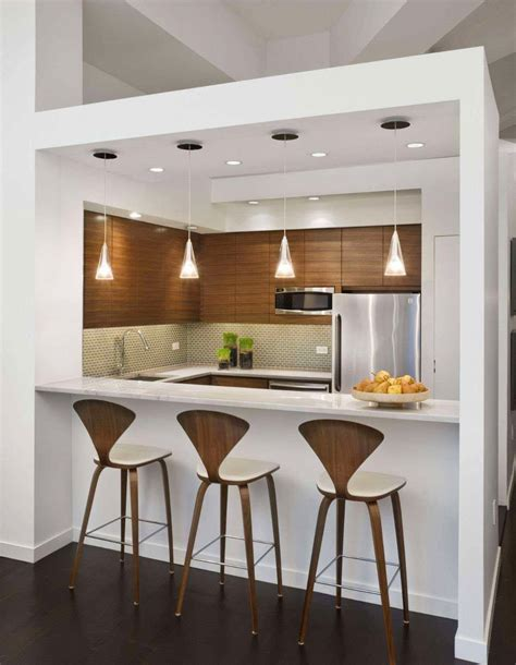 Small Kitchen With Island Ideas - 13 modern designs for the ultimate kitchen bar
