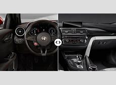 Alfa Romeo Giulia vs BMW M3 Interior Comparison #4