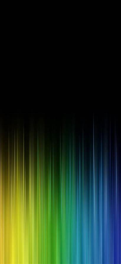 Iphone Rainbow Line Dark Wallpapers Pattern