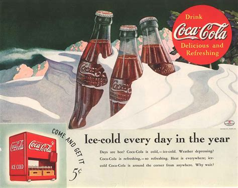 Vintage Coca-cola Bottle Print Ads