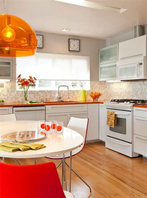 charming mid century kitchen designs