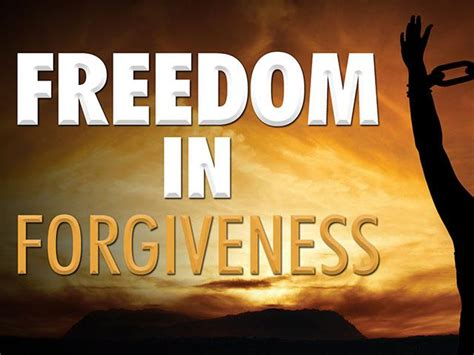 forgiveness   key  unlocking gods miracle power