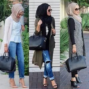 Fall stylish hijab street looks u2013 Just Trendy Girls