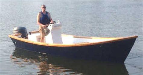 Dory Flat Bottom Boat by Easy To Build Carolina Dory Wooden Boat Plans Boat
