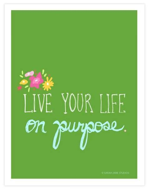 life  purpose inspirational image quote