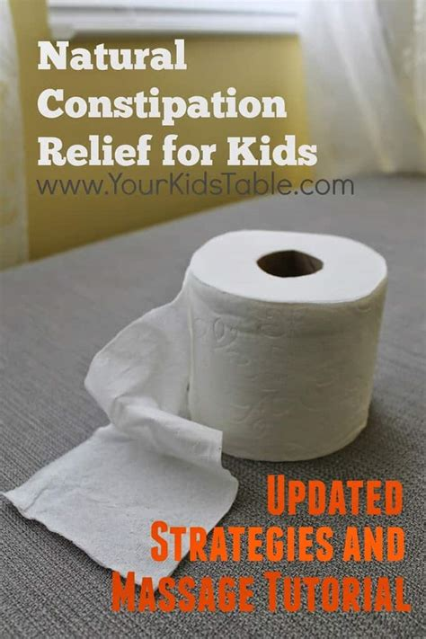 overcome chronic constipation  children