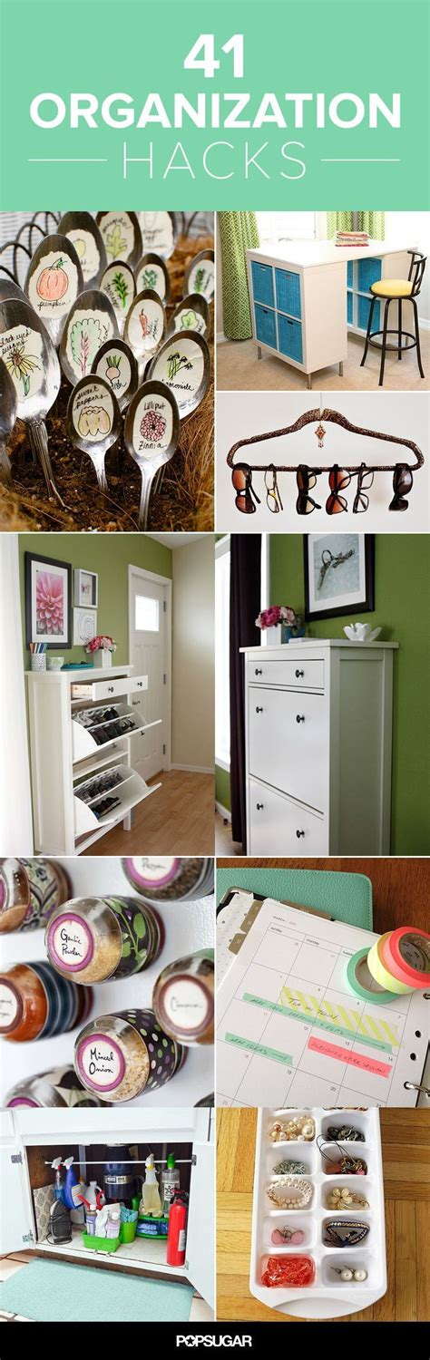 41 Insanely Awesome Organization Hacks Declutter