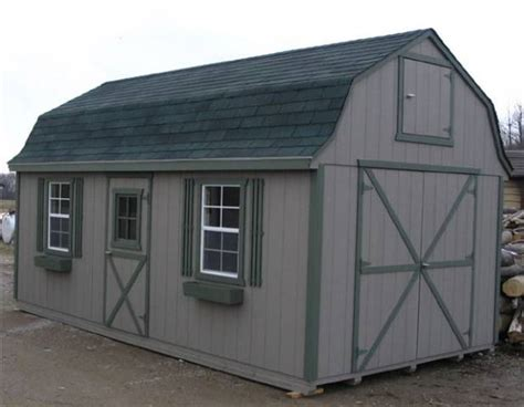 10x20 Shed Plans With Loft by 10 X 20 Barn How To Build Diy Blueprints Pdf