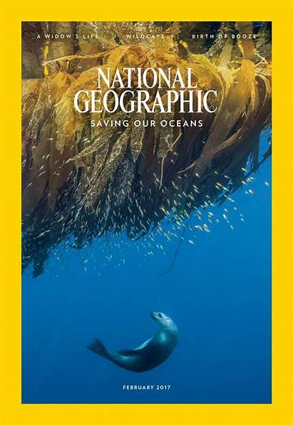 Geographic National Magazine February Issue Digital Oceans