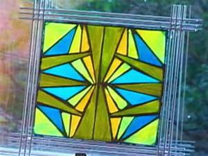 How to Make Mosaic Stained Glass Art | HGTV