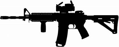 Ar Silhouette Rifle Decal Assault Pngkey Transparent