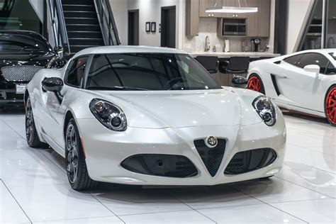 Used 2015 Alfa Romeo 4c Coupe For Sale (special Pricing