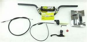 Pro Taper Handlebar Kit  Controls Crf110f
