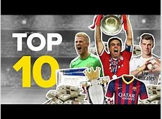 Top 10 Richest Football Clubs 2014 YouTube