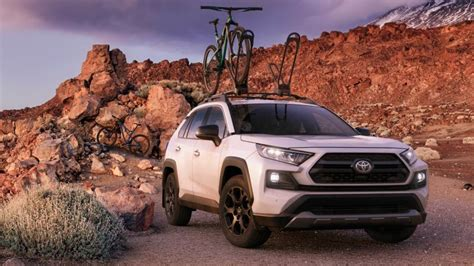 toyota rav trd  road adds   toughness