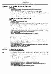 cyber security systems engineer resume samples velvet jobs With cyber security resume sample