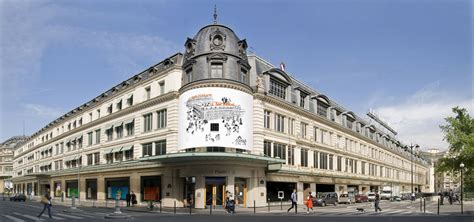 siege rive le bon marché grand magasin parisien distribution