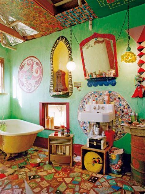adorable bathrooms  vivid colors