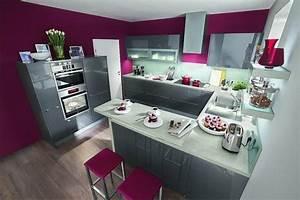 Cuisine gris anthracite 56 idees pour une cuisine chic for Idee deco cuisine avec cuisine en bois gris