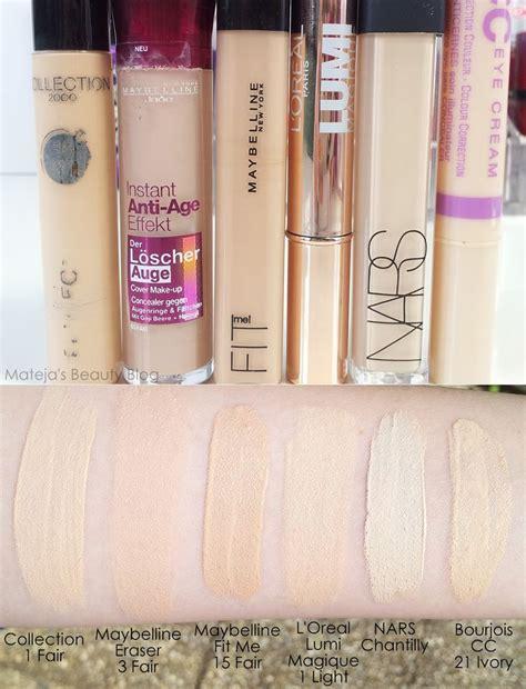 matejas beauty blog maybelline fit concealer fair