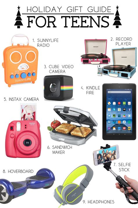 holiday gift guide for teens holiday gift guide teen