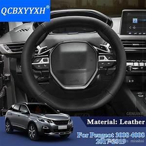 Poids Peugeot 3008 : acheter qcbxyyxh style de voiture pour peugeot 3008 4008 5008 2017 2019 couvre volant en cuir ~ Medecine-chirurgie-esthetiques.com Avis de Voitures