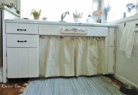 kitchen curtains sink farmhouse kitchen remodel a room with a view knick of time 4367