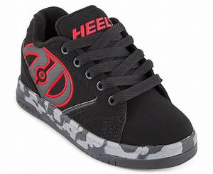 Heelys Wheel Size Chart Heelys Boys 39 Propel 20 Wheel Shoe Black Red Confetti