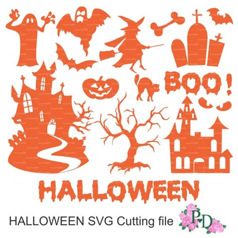 Freevector.com is a place to download free vectors, icons, wallpapers and brand logos. Halloween Cutting File silhouette Overlays eps svg dxf ai