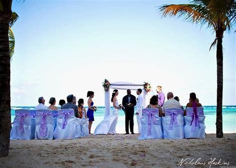 wedding ceremony riu ocho rios hotel jamaica wedding