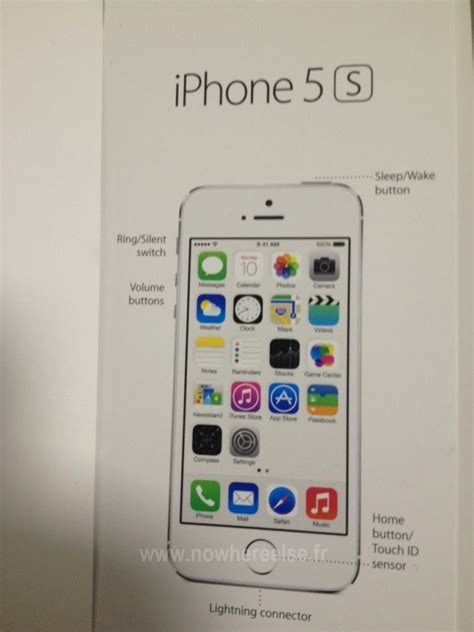 iphone manual alleged iphone 5s user manual shows fingerprint sensor