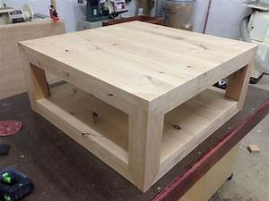 custom rustic coffee table knotty alder by mad woodwork With custom coffee table tops