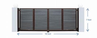 Airgate 2m Delux 5m Length Senaka