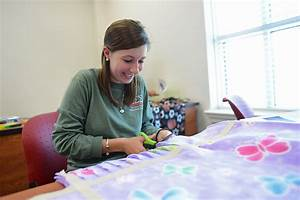 Psychology Class Makes Blankets for Children   High Point ...