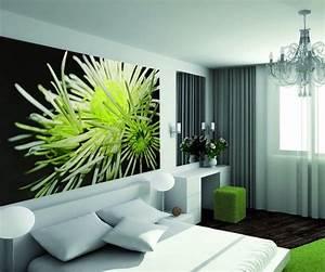 Decoration Murale Fleur D39Hiver 75x112 Dcoration