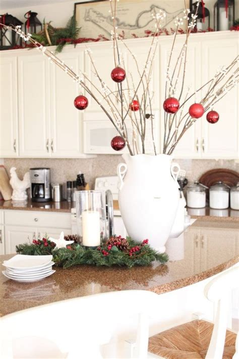 christmas decorating ideas for the kitchen 35 kitchen christmas decoration ideas