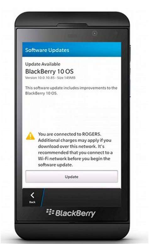 the www blackberry 10 0 10 85 software update improvements and how to update blackberry