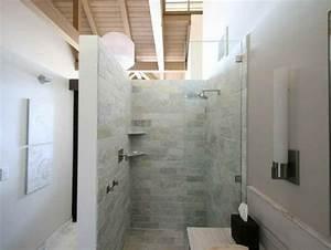 Salle De Bain à L Italienne : mod le douche l 39 italienne 74 id es pour l 39 am nager ~ Dailycaller-alerts.com Idées de Décoration