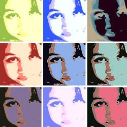 pop art poster   pop icon
