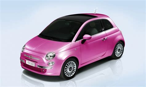 Pink Fiat by Fiat 500 Pink Limited Production Version Autoevolution