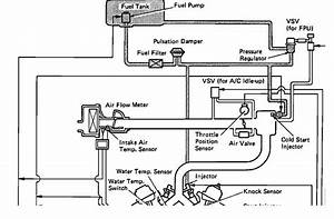 I Need Hose Diagram For 1992 Toyota 4x4 With 3 0 Efi Engine