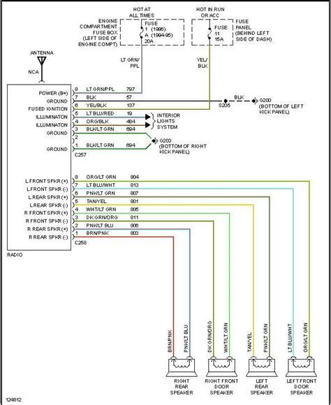 1997 F350 Radio Wiring Diagram by Stereo Wiring Diagram Ford Powerstroke Diesel Forum