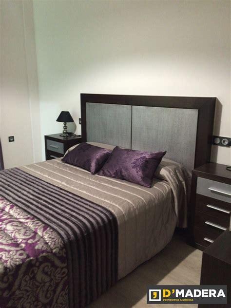 Dormitorio En Roble Acabado Plata Vieja Y Wengue