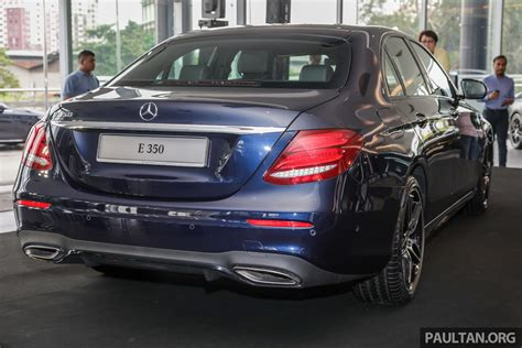 Mercedes 2019 Malaysia by 2019 W213 Mercedes E350 Launched In Malaysia New 48
