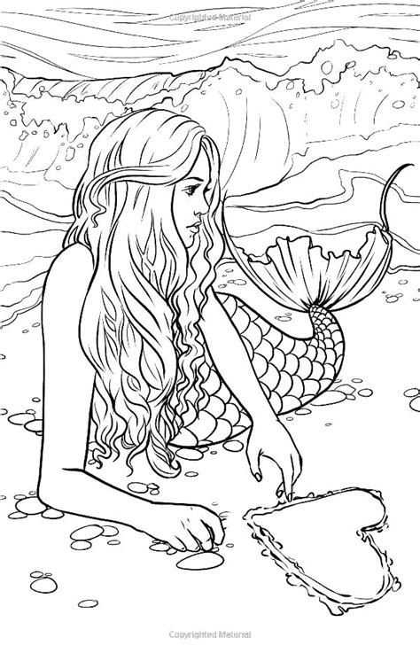 mermaids coloring pages jwcresourcesco