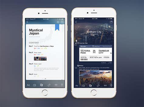 26 Innovative Mobile Travel App UI Design Concepts | Web